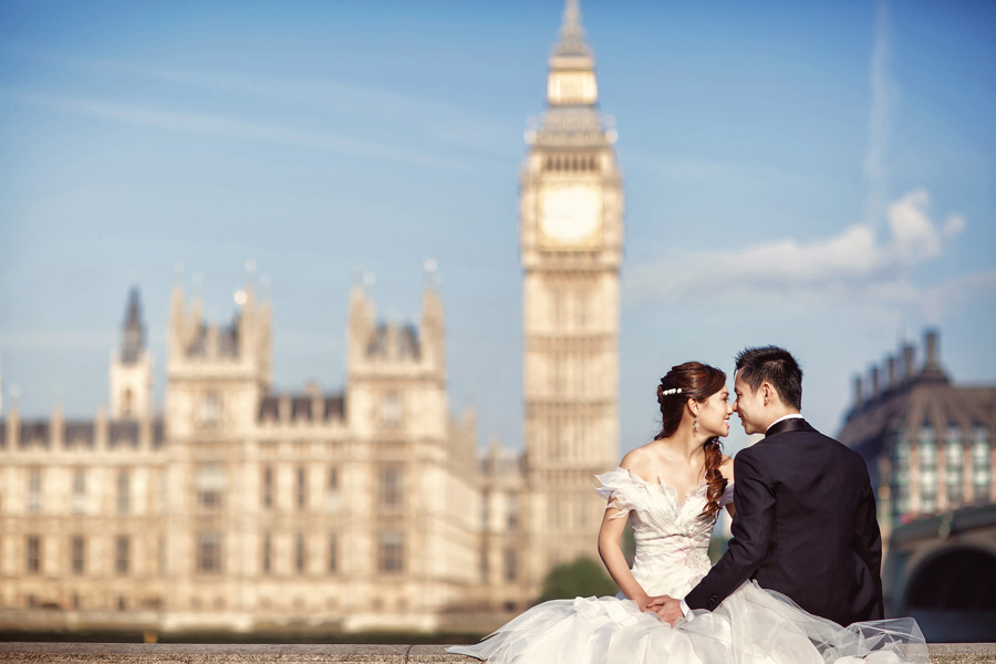 London Paris Bridal Photography